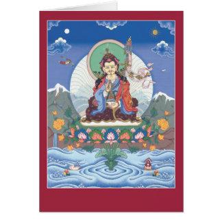 Cartão CARDE Padmasambhava/Guru Rinpoche - com mantra