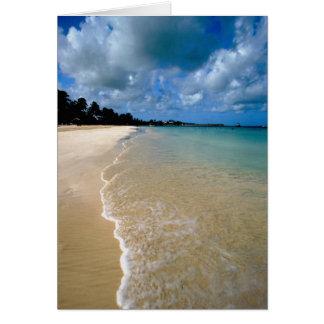 Cartão Caribe, ilhas de Leeward, Antígua, Dickenson