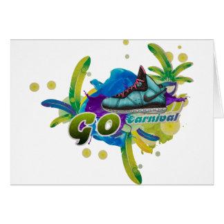 Cartão Carnaval de Dance4Life