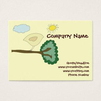 Cartão carnudo do Web site do passarinho