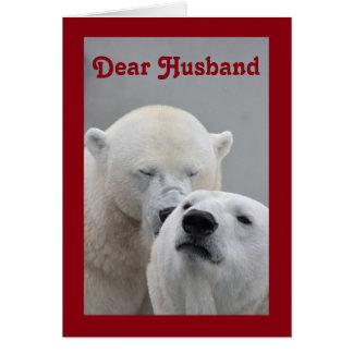 Cartão Caro marido dos namorados