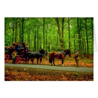 Cartão 'Carriage