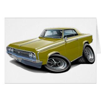 Cartão Carro 1964-65 do ouro do cutelo