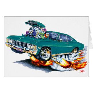 Cartão Carro 1965-66 da cerceta do Impala