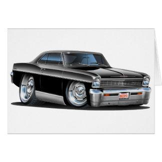Cartão Carro 1966-67 preto da nova