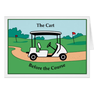 Cartão Carro antes do curso