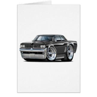 Cartão Carro preto de 1964 GTO
