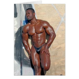 Cartão Cartão, bodybuilder Jean SCUTT, # 58A