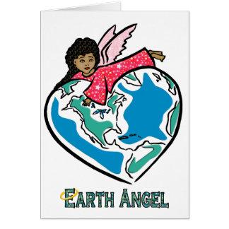 """Cartão Cartão: Da """"anjo terra"""" (b)"""