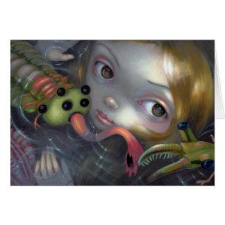 """Cartão """"Cartão da sereia cambriana"""""""