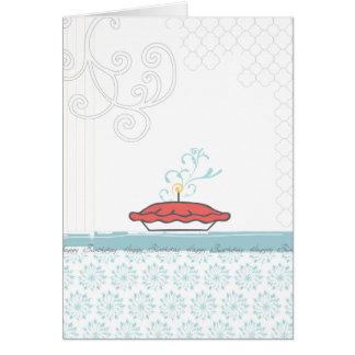 Cartão {Cartão da torta do feliz aniversario}