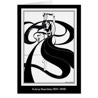 Cartão Cartão: Ilustração de Beardsley
