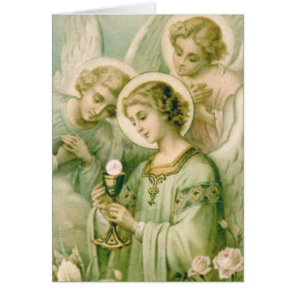 Cartão Cartão: Minha alma Rends o véu