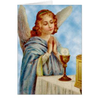Cartão Cartão: O anjo Ponders