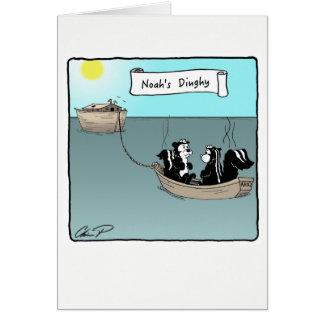 Cartão Cartão: O bote de Noah