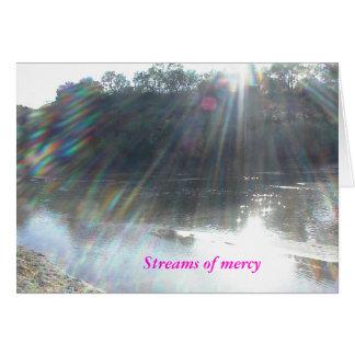 Cartão Cartão: Vindo, fonte de mil de cada bênção