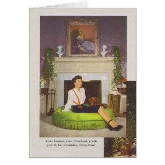 Cartão Casa 1944 de Joana Crawford Brentwood