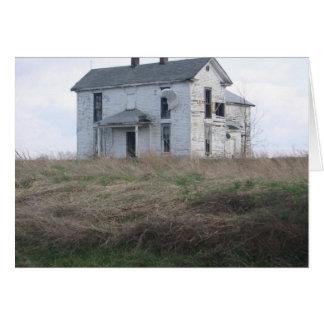 Cartão Casa da quinta perdida