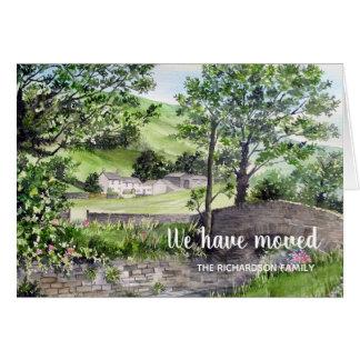 Cartão Casa da quinta perto da casa que nova de Thirlmere