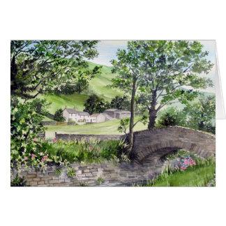 Cartão Casa da quinta perto de Thirlmere, distrito do