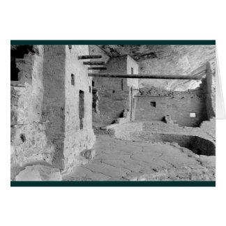 Cartão Casa do balcão, parque nacional do Mesa Verde