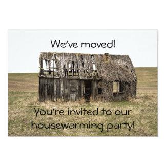 Cartão Casa do Housewarming/convite de festas novos do