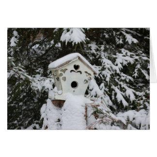 Cartão Casa do pássaro