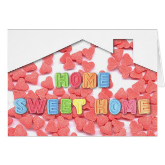 Cartão Casa doce Home
