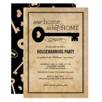 Cartão Casa doce Home nova do partido | do Housewarming