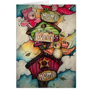 Cartão Casa Home do Tweet