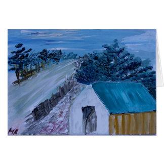 Cartão Casa no monte