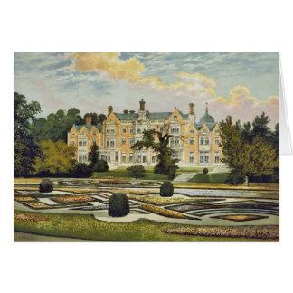 Cartão Casa Norfolk Inglaterra de Sandringham
