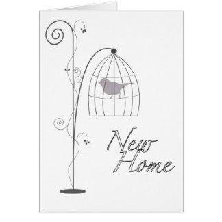 Cartão casa nova