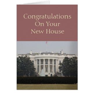 Cartão Casa nova - parabéns em sua casa nova