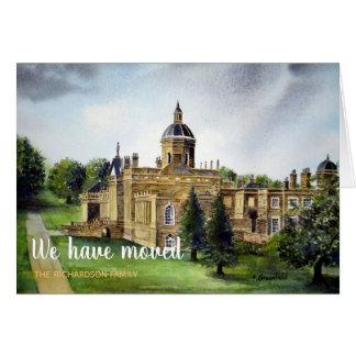 Cartão Casa que nova de Howard Yorkshire do castelo nós