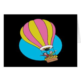Cartão Casal Ballooning