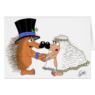 Cartão Casamento Bels