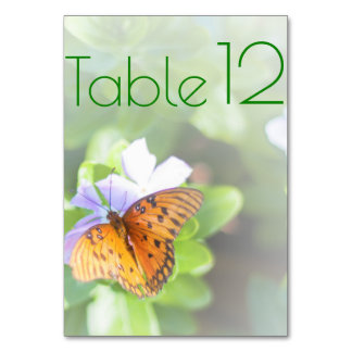 Cartão Casamento da borboleta