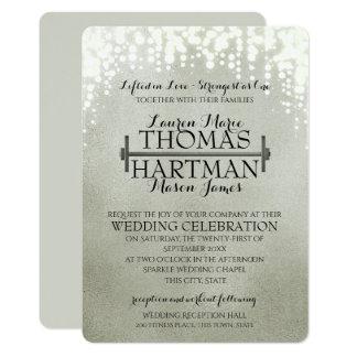 Cartão Casamento da faísca do bar da onda da malhação