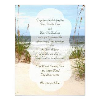 Cartão Casamento de praia