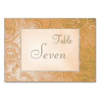 Cartão Casamento floral da beira do outono do jade do