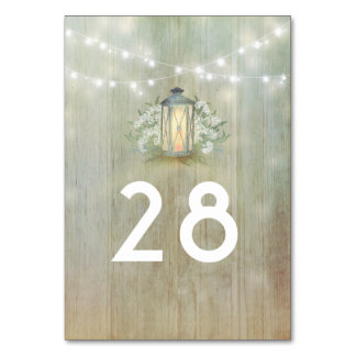 Cartão Casamento floral rústico do celeiro da lanterna do