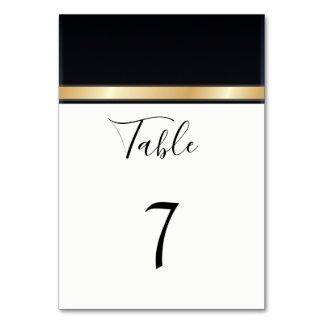Cartão Casamento preto moderno elegante do branco e do