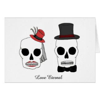 Cartão Casamento Skellies