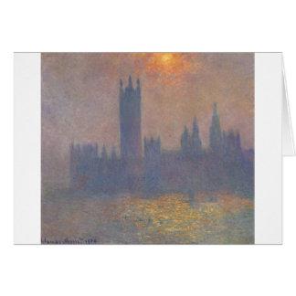 Cartão Casas do parlamento, efeito da luz solar nas FO