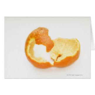 Cartão Casca da tangerina