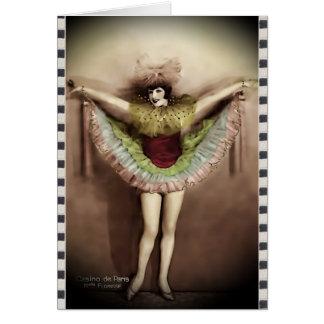 Cartão Casino de Paris_Miss Florisse