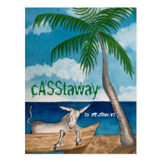 Cartão Casstaway do asno