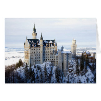 Cartão Castelo 4 de Neuschwanstein