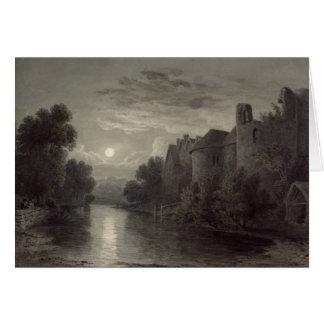 Cartão Castelo de Allington, perto de Maidstone, Kent;